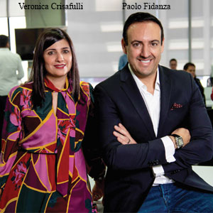 Paolo Fidanza, CEO and Founder and Veronica Crisafulli, COO & Co-founder, MO Tecnologias