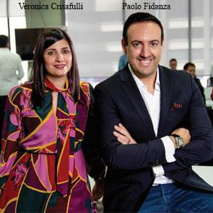 Paolo Fidanza, CEO and Founder and Veronica Crisafulli, COO & Co-founder, MO Tecnologias