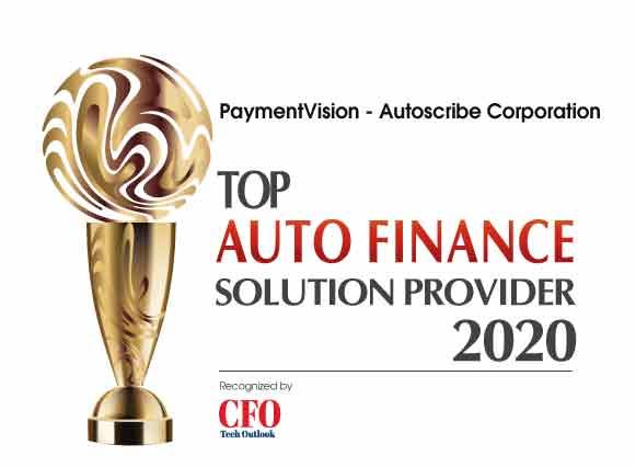 Top 10 Auto Finance Solution Companies - 2020