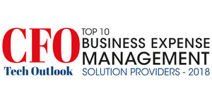 Top 10 Business Expense Management Solution Providers - 2018
