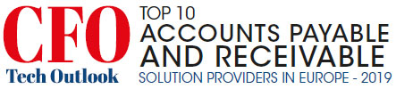 Top 10 Accounts Payable and Receivable Solution Providers in Europe - 2019
